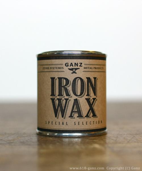天然素材の鉄製品用アイアンワックス