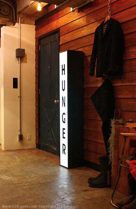 お店の雰囲気に自然に馴染むランプボックスの光