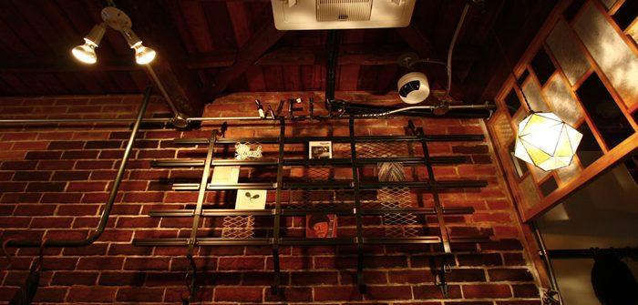 照井利幸さんのお店「THERE」にCDラックと「WELD MUSIC」のサインを製作