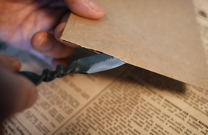 安全性を確保して適度にシャープな切れ味