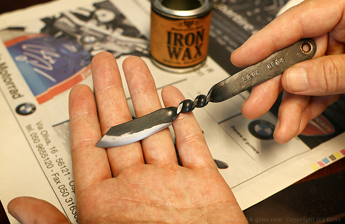 ペーパーナイフの研ぎ直しとメンテナンス完成