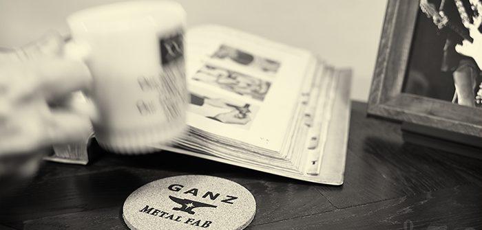GANZ METAL FAB(ギャンズメタルファブ) コルクコースター