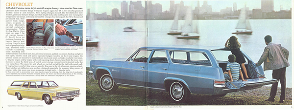 50年以上前に生産された車「1966 Chevrolet Impala」のカタログ