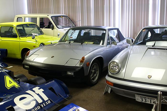 ポルシェの914と911(1974)