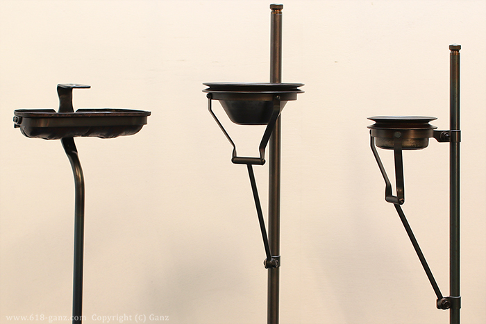 屋外用のスタンド灰皿を「5種類」製作