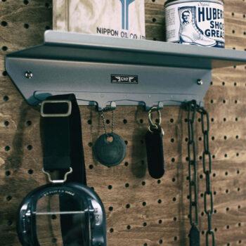 GMP – 4 Hook Wall Shelf