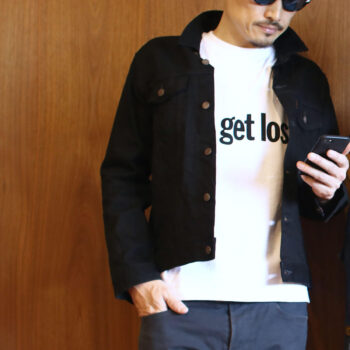 """LC×GFS """"let's get lost"""" Tee – Bk"""