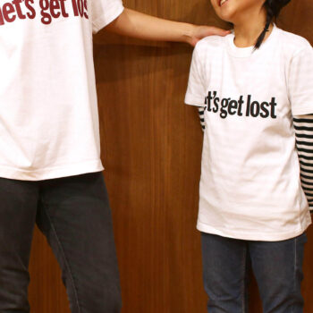 "LC×GFS ""let's get lost"" Kids Tee – Bk"
