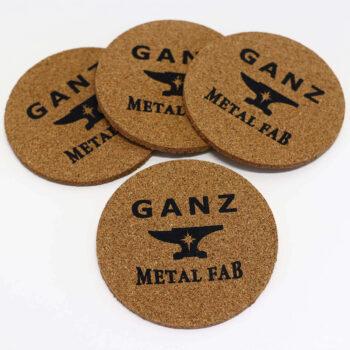 Cork Coaster Set – GANZ