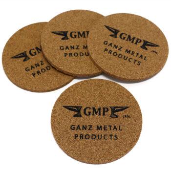Cork Coaster Set – GMP Anvil Logo