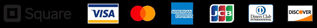 使用可能なクレジットカードの種類